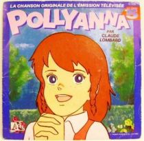 Polyanna Story (Ai Shoujo Pollyanna Monogatari) - Mini-LP Record - Original French TV series Soundtrack - Ades Records 1986