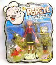 Popeye - 6\'\' action figure - Olive Oyl - Mezco