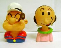 Popeye - Comic Spain PVC Busts - Popeye & Olive Oyl