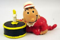 Popeye - Comic Spain PVC figure - Sweet Pea with cake