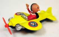 Popeye - Corgi Junior Diecast Vehicle with figure - Olive Oyl on plane