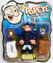 Popeye - Figurine articulée 14cm - Pea Coat Popeye - Mezco