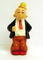 Popeye - Heimo PVC figure - J. Wellington Wimpy (red tie& yellow hat)