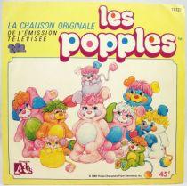 Les Popples - Disque 45T- Générique série TV - Disque Ades 1986