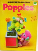 Popples - Whitman Coloring Book
