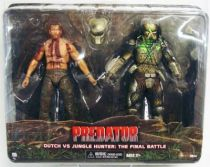 Predator  - Neca 2-pack - Dutch vs. Jungle Hunter : The Final Battle