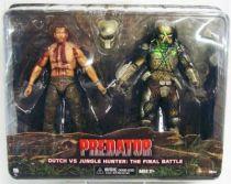 Predator  - Neca two-pack - Dutch vs. Jungle Hunter : The Final Battle