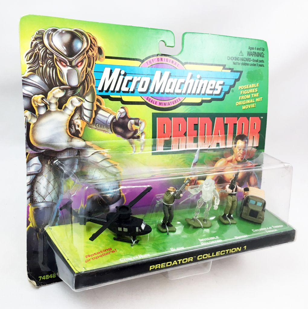 Predator - MicroMachines (Galoob) - Collection 1