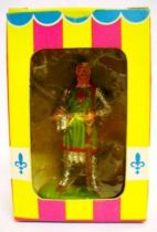 Prince Vailant - Elastolin/Ougen - Knight Gawain (green outfit) (ref  8802)