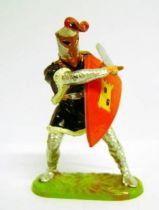 Prince Vailant - Elastolin/Ougen - Prince Arne of Ord (black outfit) (ref  8803)