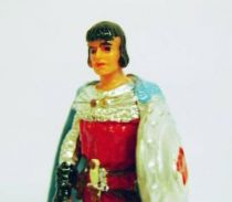 Prince Vailant - Elastolin/Ougen - Prince Vailant as page (red outfit & blue cape) (ref  8801)