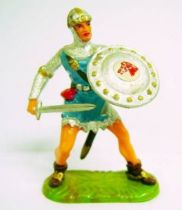 Prince Vailant - Elastolin/Ougen - Prince Vailant from Thule (blue outfit) (ref  8803)
