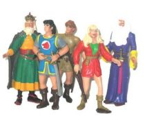 Prince Valiant - Comics Spain Pvc Figures - Complete set of 5