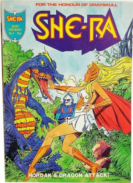Princess of Power - London Editions - She-Ra Magazine #4