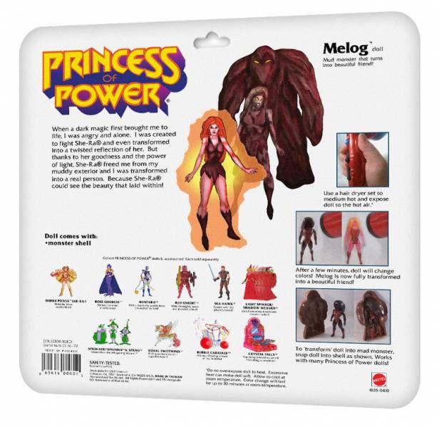 Princess of Power - Melog (USA card) - Barbarossa Art