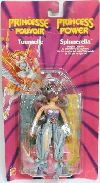 Princess of Power - Spinnerella (Europe card)