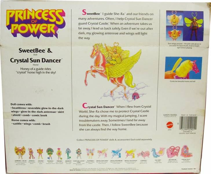 Princess of Power - Sweet Bee & Crystal Sun Dancer gift-set (USA box)