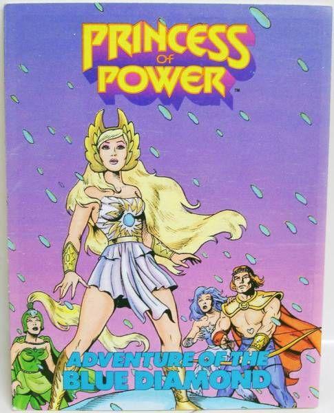 Princess of Power Mini-comic - Adventure of the Blue Diamond (english-french)