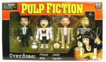 Pulp Fiction - NECA Geom Design - Overdose : Vince, Mia, Lance & Jody