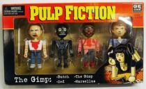 Pulp Fiction - NECA Geom Design - The Gimp : Butch, Zed, Marsellus &The Gimp