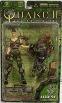 Quake II - Jungle Marine Athena & Strogg Parasite - ReSaurus