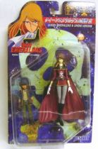 Queen Emeraldas - Action Figure Collection I : Queen Emeraldas & Umino Hiroshi - Jesnet