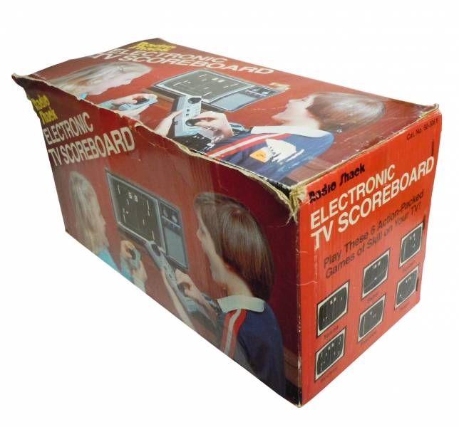 Radio Shack - Console - Electronic TV Scoreboard (loose in box)