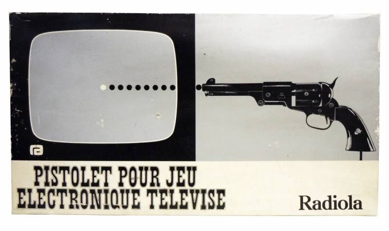 Radiola - Console Radiola T-02 Accessory - Gun for TV Electronic Game (mint in box)