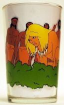Rahan - Mustard glass - Rahan and the clan