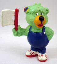 Rainbow Bears (Die Regenbogenbären) - Schleich PVC Figure - Chris with flag