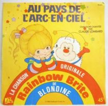 Rainbow Brite - Disque 45Tours - Chanson Originale du feuilleton Tv - Disques Ades 1983