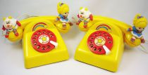 Rainbow Brite - Hallmark - Set of 2 toy telephones - Mehanotehnika