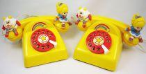 Rainbow Brite - Hallmark - Set of 2 toy telephones - Mehanotehnika