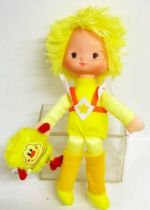 Rainbow Brite - Mattel - Canary Yellow & Spark Sprite (loose)