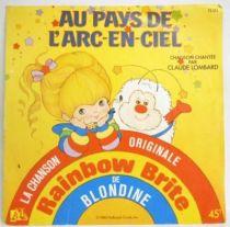 Rainbow Brite - Mini-LP Record - Original French TV series Soundtrack - Ades Records 1983