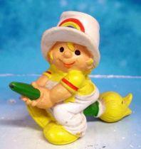 Rainbow Kids - Gelbhard on broom - Schleich