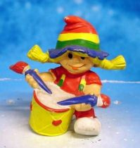 Rainbow Kids - Rotraud with drums - Schleich