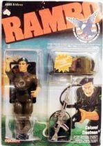 Rambo - Coleco - Colonel Trautman (mint on card)