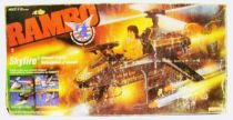Rambo - Coleco - Skyfire: Assault Copter (Loose with Box)