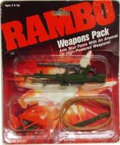 Rambo - Coleco - Weapons Pack (mint on card)