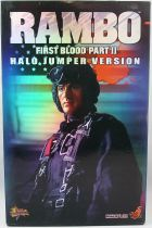 "Rambo - Hot Toys - John J. Rambo ""Halo Jumper version\"" (First Blood Part II- MMS11"