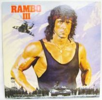 Rambo III (Original Motion Picture Soundtrack) - Record LP - Scotti Bros. Records 1988