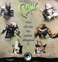 Realm of the Claw - Stan Winston Creatures - Tswana, Tare, Nakuru, Sabyr, Kaela & Zynda
