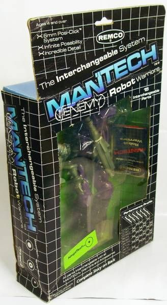 Remco - Mantech Robot Warriors - Negatech (loose with box)