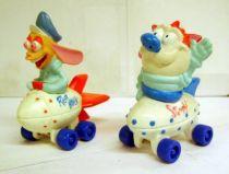 Ren & Stimpy - PVC figures on wheels