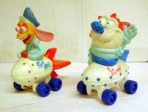 Ren & Stimpy - PVC figures on wheels