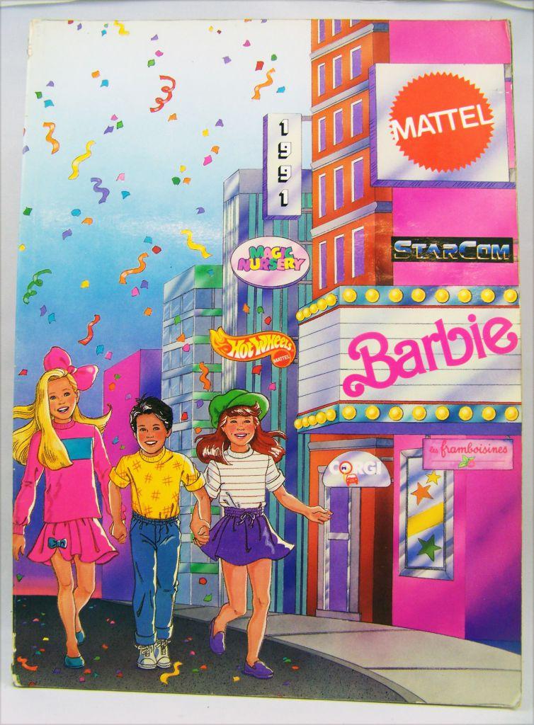 Retailer catalog Mattel France 1991