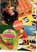 Retailer catalog Mattel France 1995 (boys)