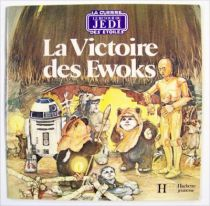 Retour du jedi - Livre Hachette Jeunesse - La Victoire des Ewoks 01