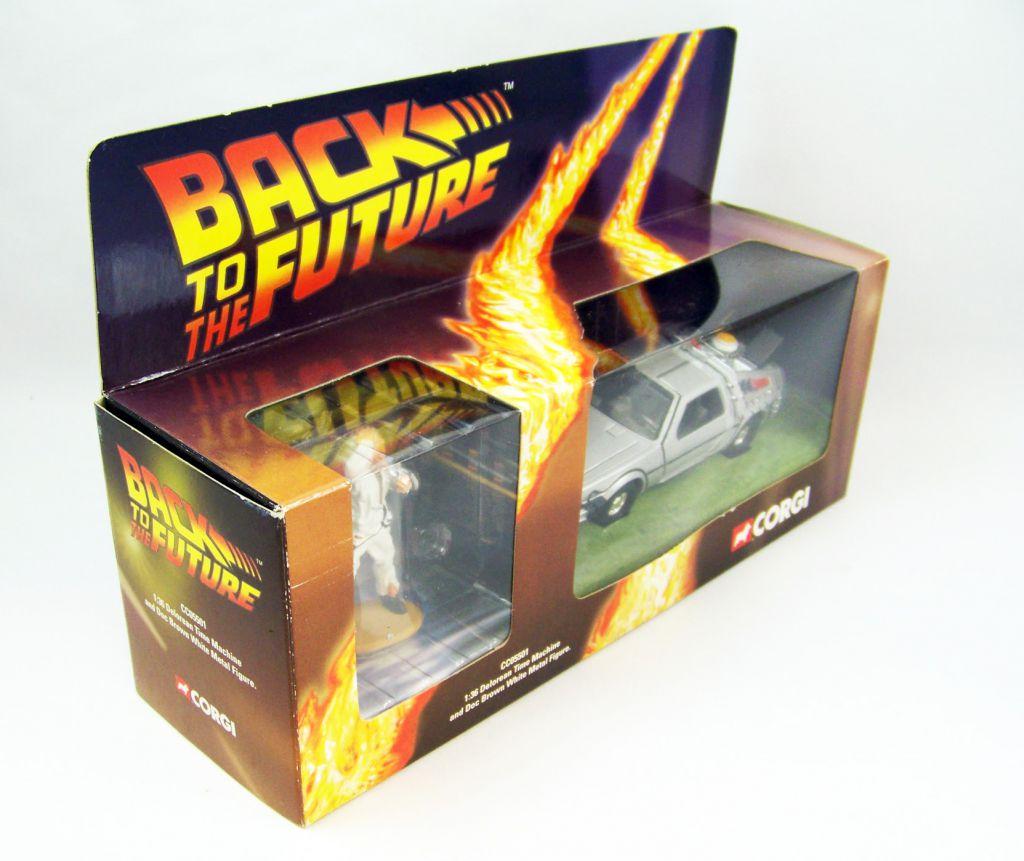 Retour vers le Futur - Corgi - Delorean Time Machine Part.1 w/Doc Brown